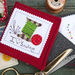 sewing book crop square
