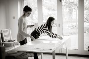 Pyjama sewing workshop 2