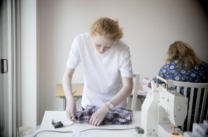 Pyjama sewing workshop 6