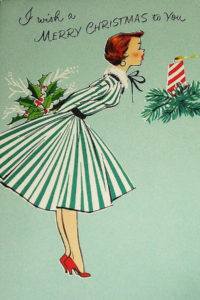 A wonderful Christmas frock!