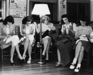 vintage sewing circle