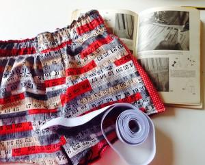 Hand made pj or boxer shorts