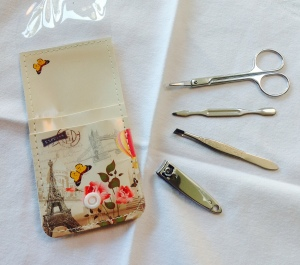 repurposed manicure set